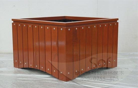 塑木,塑木花箱,石英塑木花箱低碳环保木厂家