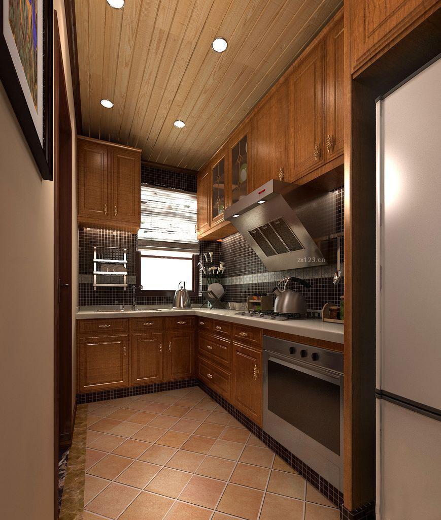 生态木吊顶主要安装在厨房