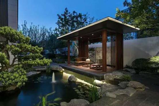 中式园林别墅图片大全