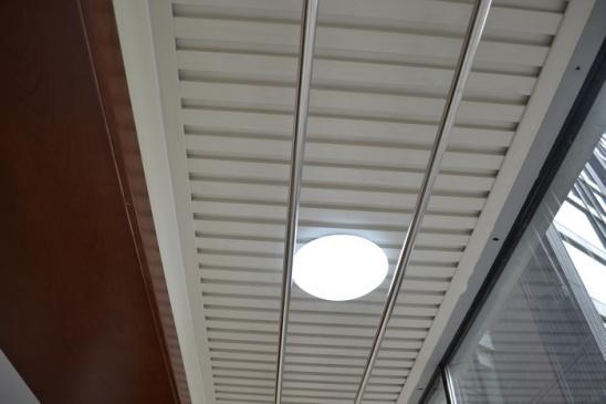 阳台吊顶用什么款式的生态木安装