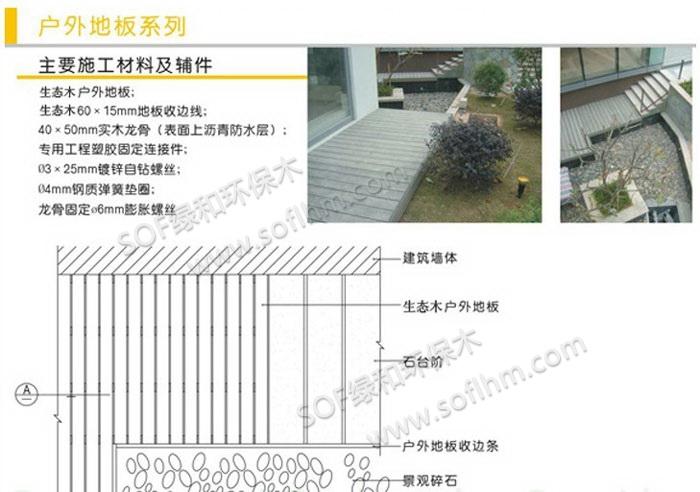 生态木户外地板安装方式