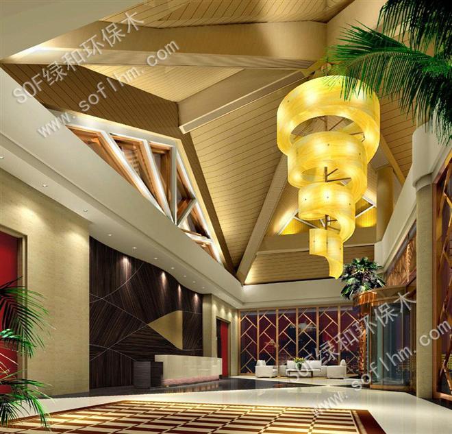 使用绿可木吊顶安装天花的六大优势