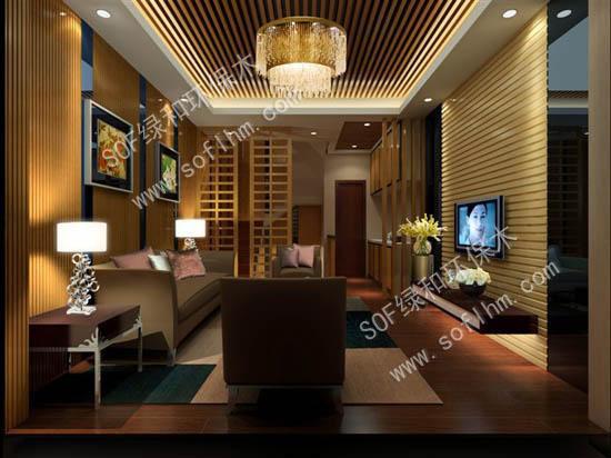 生态木材料在室内装修中的应用