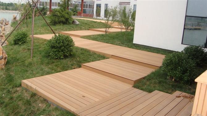 公园安装用塑木户外地板