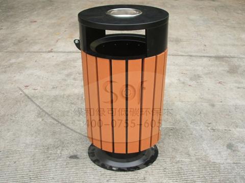 深圳市垃圾桶产品,生态木分类垃圾桶