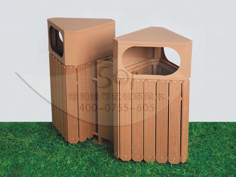 塑木垃圾桶ljt-201