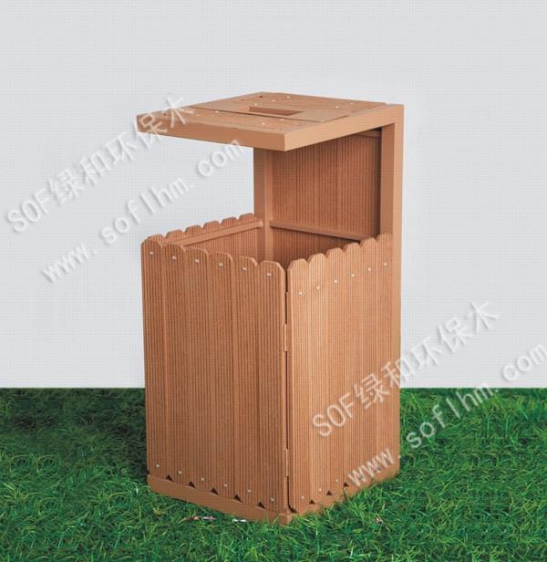 塑木垃圾桶ljt-102
