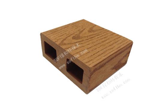 61户外塑木实心地板 61户外塑木方通 三代石英木产品 61石英木